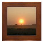 Sunrise 0018 Framed Tile