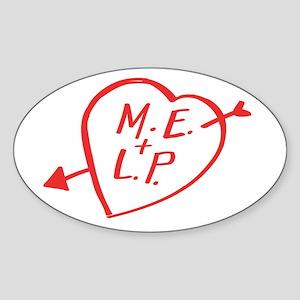 Roswell Dreamer Oval Sticker