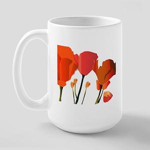 Poppy Large Mug