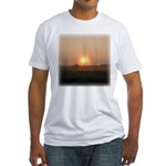 Sunrise 0018 Fitted T-Shirt