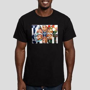 TAINO SPIRIT Men's Fitted T-Shirt (dark)