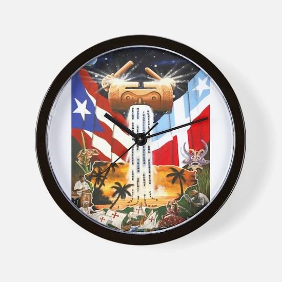 NEW!!! PUERTO RICAN PRIDE Wall Clock
