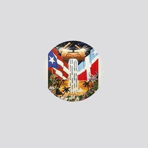 NEW!!! PUERTO RICAN PRIDE Mini Button