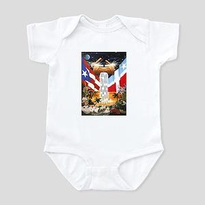 NEW!!! PUERTO RICAN PRIDE Infant Bodysuit