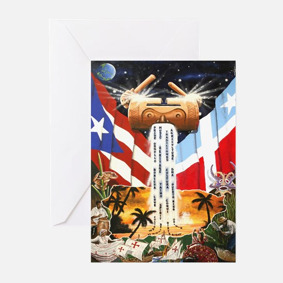 NEW!!! PUERTO RICAN PRIDE Greeting Cards (Pk of 10