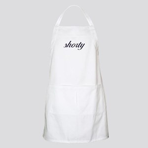 Shorty (Cursive) BBQ Apron