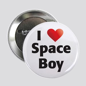 """Roswell I Love 2.25"""" Button"""