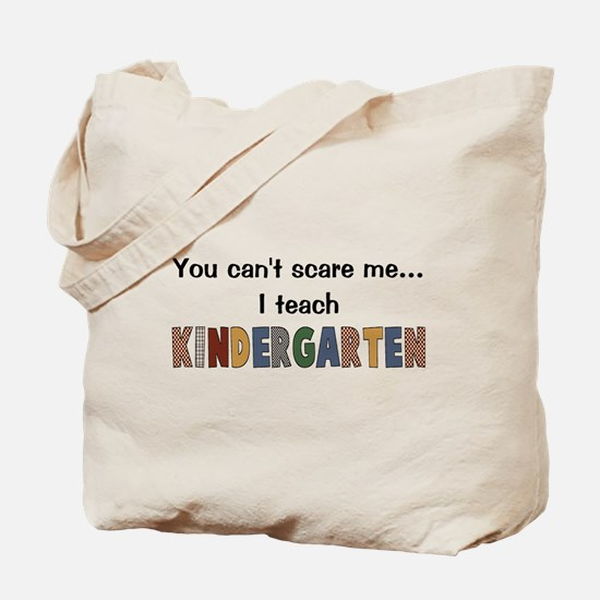 Teach Kindergarten Tote Bag