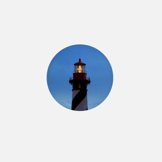 St Augustine Lighthouse Mini Button