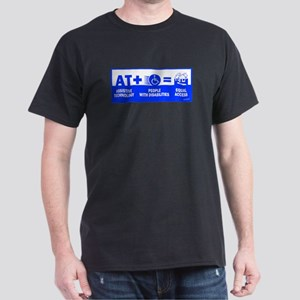 AT = Access! Black T-Shirt
