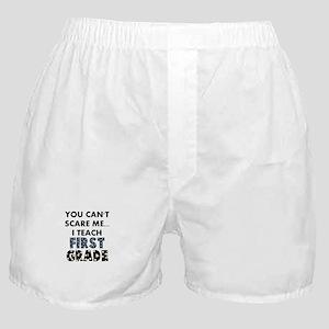 1st Grade Teacher Boxer Shorts