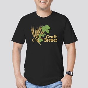 Craft Brewer Men's Fitted T-Shirt (dark)