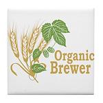 Organic Brewer Tile Coaster
