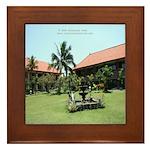 Bali Architecture Framed Tile
