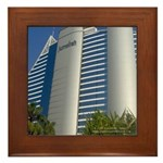 Dubai Architecture 3 Framed Tile