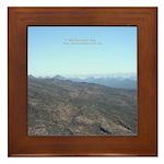 Blue Mountains Framed Tile