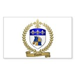 VOTOUR Family Crest Rectangle Sticker 10 pk)