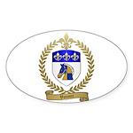 VOTOUR Family Crest Oval Sticker