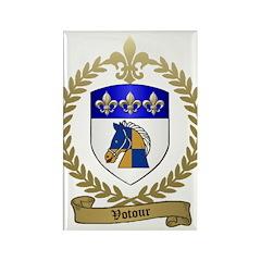 VOTOUR Family Crest Rectangle Magnet (100 pack)
