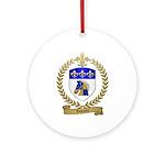 VOTOUR Family Crest Ornament (Round)