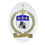 VOTOUR Family Crest Oval Ornament