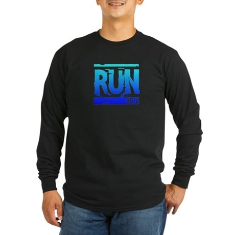 Run 26.2 Long Sleeve Dark T-Shirt