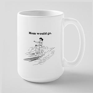 surf mamma Large Mug