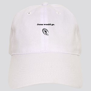 Jesus Would Go; Surfing Cap