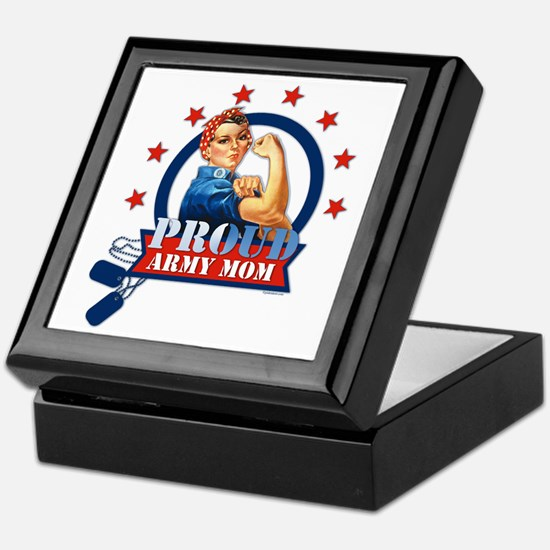 Rosie Proud Army Mom Keepsake Box