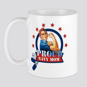Rosie Proud Navy Mom Mug