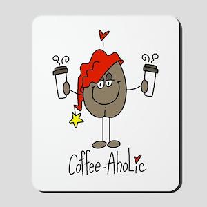 Coffee-Aholic Mousepad