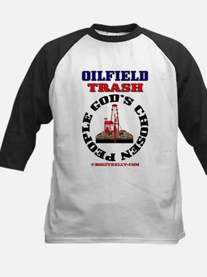 Oil field Trash God's Chosen Kids Baseball Jersey