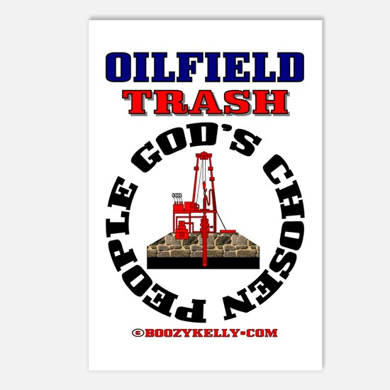 Oil field Trash God's Chosen Postcards (Package of