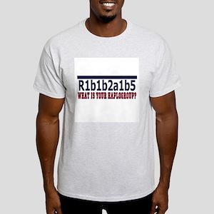 WHAT'S YOUR HAPLOGROUP? Light T-Shirt