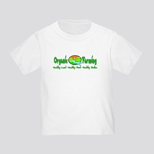 Support Organic Farming Toddler T-Shirt