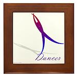 Dancer Framed Tile