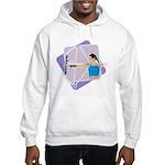 Rainbow Archer Hooded Sweatshirt
