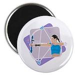 Rainbow Archer Magnet