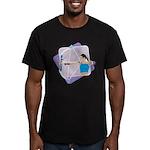 Rainbow Archer Men's Fitted T-Shirt (dark)