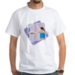 Rainbow Archer White T-Shirt
