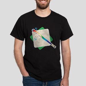 Ball and Bat Dark T-Shirt