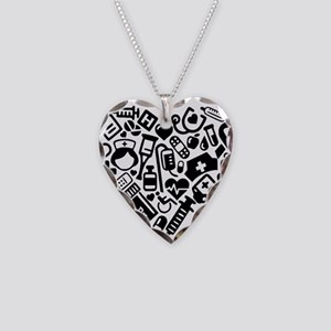 Nurse Heart Necklace Heart Charm