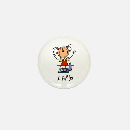 Bingo Lover Mini Button