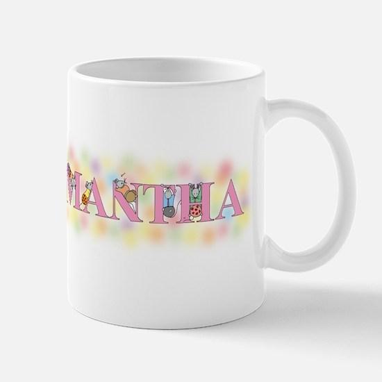 """Samantha"" with Mice Mug"