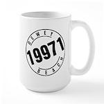 Dewey Beach 19971 Large Mug