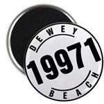 Dewey Beach 19971 Magnet