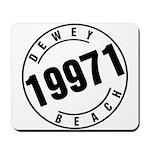 Dewey Beach 19971 Mousepad