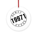Dewey Beach 19971 Ornament (Round)
