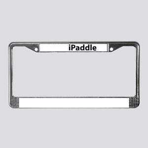 iPaddle License Plate Frame