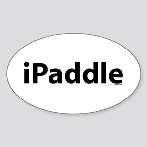 iPaddle Oval Sticker